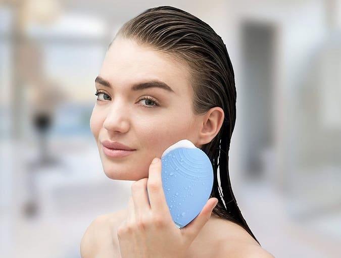 limpiador facial electrico