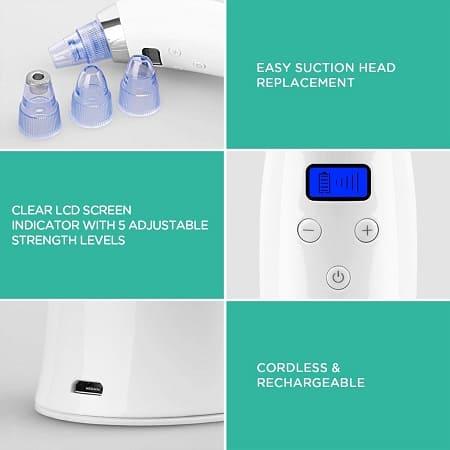 mejor limpiador de poros electrico